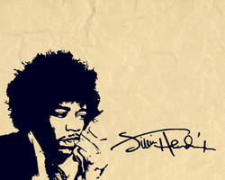 Jimi Hendrix Wallpaper by Feenster64