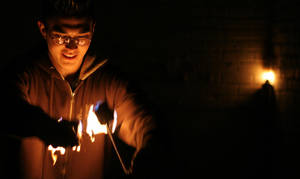 onset of pyromania by joebobsamfrank