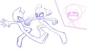 Sonic base. Battle. by ApallonShinomia