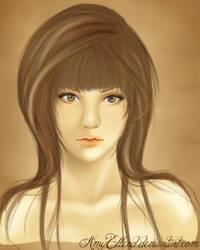 Portrait - Study by AmyEllend