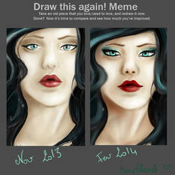 Draw this again ! by AmyEllend