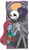 Jack and Sally by teneelilangel