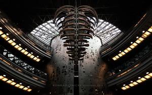 Alien form in architecture by KonradJanicki