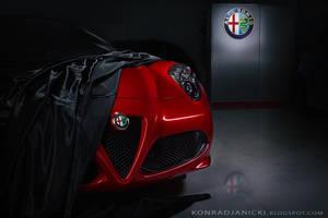 hidden Alfa Romeo 4C by KonradJanicki