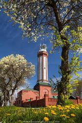 spring lighthouse by KonradJanicki