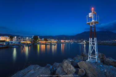 blue marina by KonradJanicki