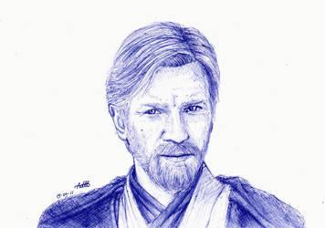 Obi-Wan by owkluvu
