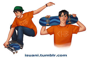 Skater Boy by Isuani