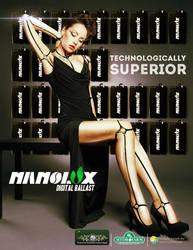 Nanolux Magazine Advertisement by mrchrisby