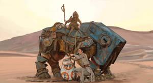 The Force Awakens - Study by waywalker