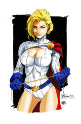 Power Girl by Jabroni312