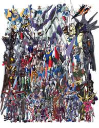 Every Last Gundam by ZGMF-X20-Freedom