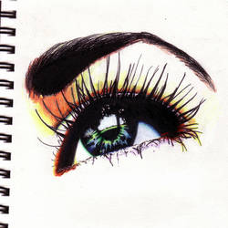 An Eye by mikegreen