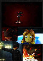 Shadow the Hedgehog Page 1 by Blossom-fur7