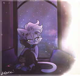 Daydreaming by Blossom-fur7