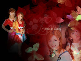 Wallpaper Hito Guchi Love by B-Len