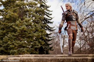 Geralt of Rivia by Kuromaru-dono