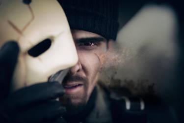 Gabriel Reyes - Reaper - cosplay by Kuromaru-dono