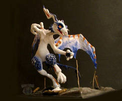 Sculpted Fury by pearlzu