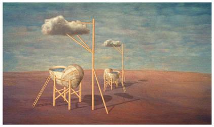 Cloud catchers by kisskornel