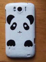 Panda (Phone case) by skitty2