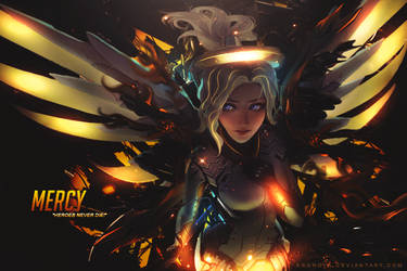 Mercy - Overwatch by Kronova