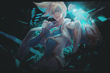 Star Guardian Ezreal - League of Legends by Kronova