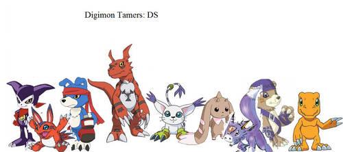 Digimon Tamers: DS by RamenXfox