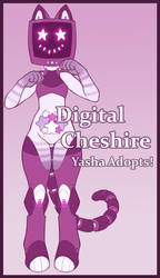 Digital Chesire Adopt [Open] by YashaAdopts
