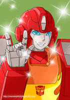 flash Hotrod by momoko0418
