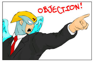 Harvey Birdman:Attorney At Law by celestialwriter