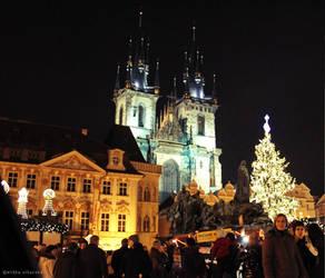 Christmas Prague by freezinka