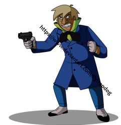 Gun by FlytrapDog