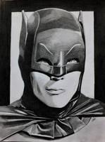 The Real Batman - Adam West by professorwagstaff