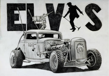 Fury Road Elvis by professorwagstaff
