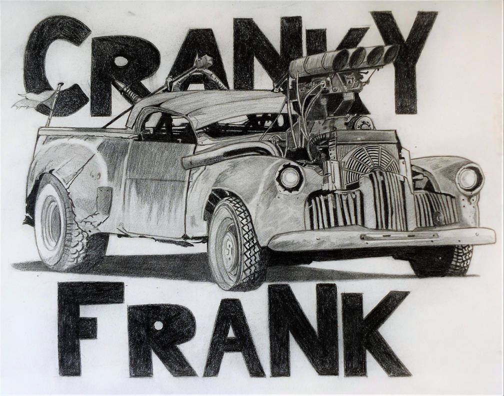 Fury Road Cranky Frank by professorwagstaff