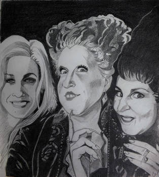 The Sanderson Sisters I Put a Spell on You by professorwagstaff