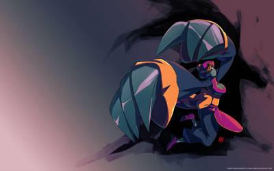 Lei Lei - Darkstalkers Wallpaper by qiqo
