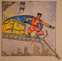 Random super hero character by MayGoldworthy