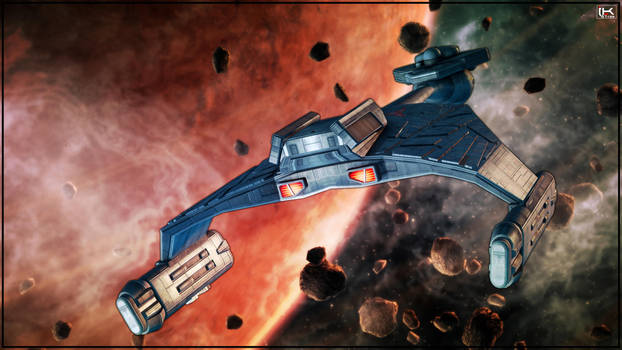 D7 Battle Cruiser #005 by Kurumi-Morishita