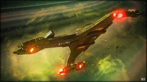 Vor'cha Class Battle Cruiser #006 by Kurumi-Morishita