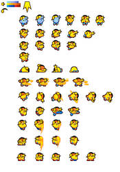 Super Shifuto Sprite Sheet by Galactic-Ethereality