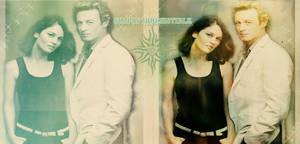 Patrick Jane and Teresa Lisbon by CamelotLady