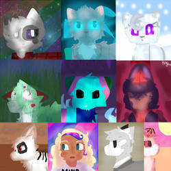 Lineless Icon Batch #2 by Kaymilton