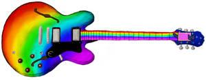 Nyan Cat Guitar by I-slay