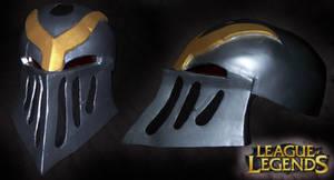 League of Legends: Zed Helmet by FrozenHaka