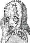 Lady Gaga Typographic Portrait by Bunnie-Boo