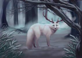[GD] Event 1.2.1 Beast Design - Horned fox by Lodchen