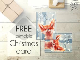 Free Christmas Card by Lodchen