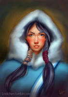 Ava Portrait by Lodchen